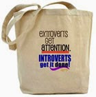 Just for fun: Introverts get it done bag