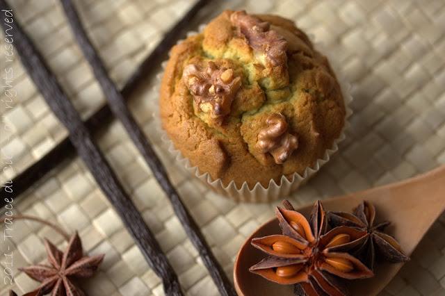muffin, avocado, anice, vaniglia