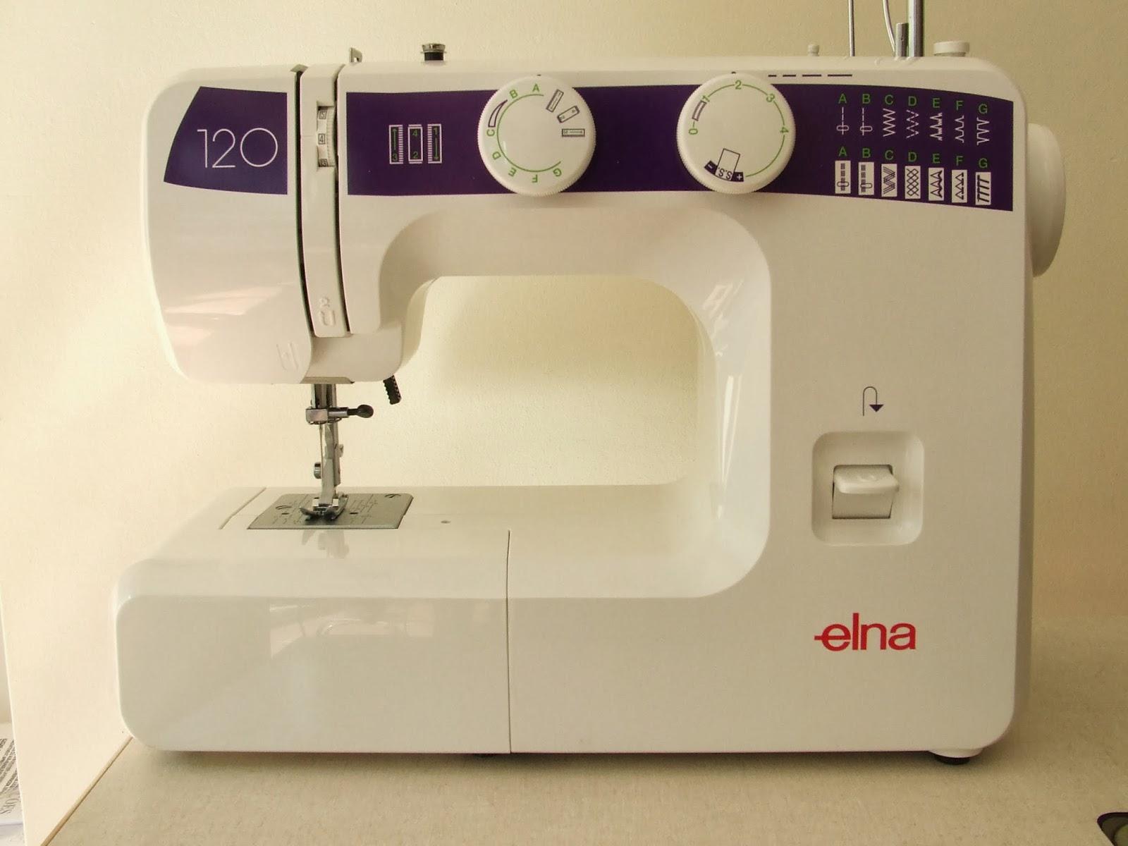 SEOANETEXTIL: Máquina de coser Elna 120