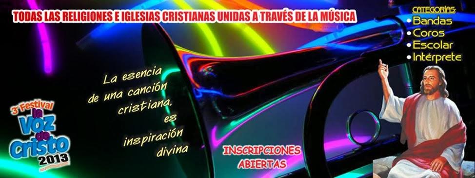 "Festival ""La Voz de Cristo"""