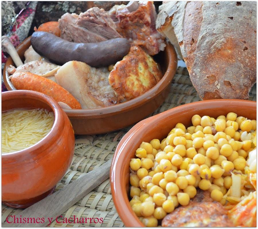 Cocido monta s tierras leonesas desaf o en la cocina for Cacharros cocina