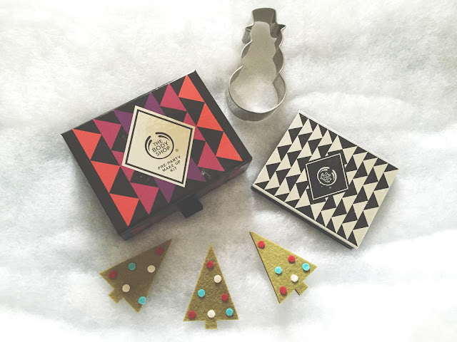 Christmas Palettes From The Body Shop
