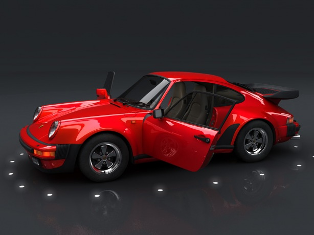 OLD SCHOOL CARS 1974 Porsche 911 Turbo