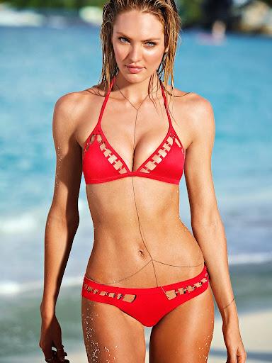 Candice Swanepoel hot Victoria's Secret sexy bikini model