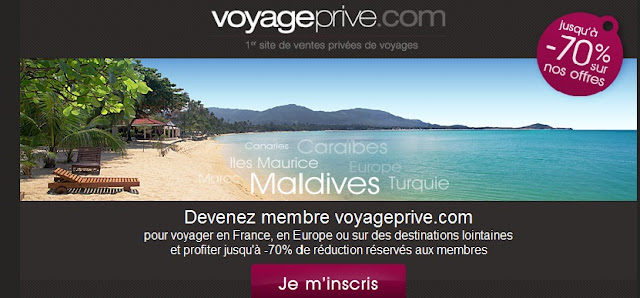 voyage privé accès membre