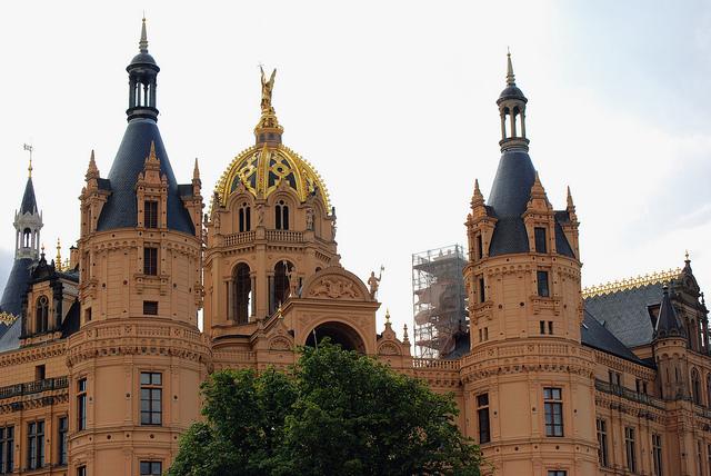 Castillo de Schwerin en Alemania