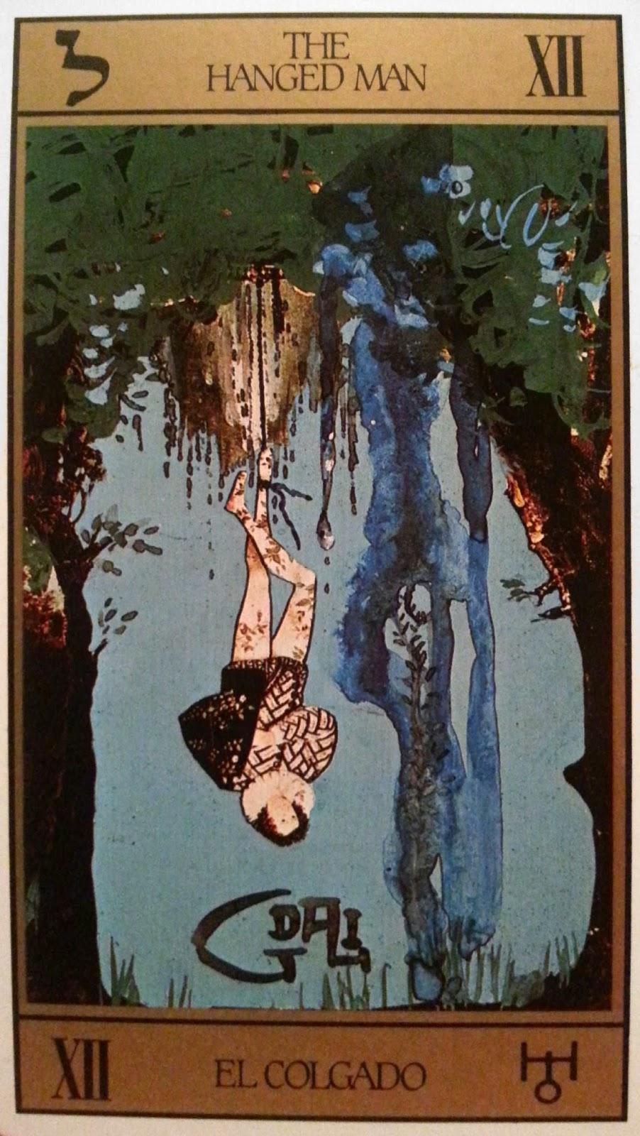 El Colgado- Tarot Dalí