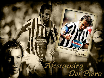 Juventus FC - Alessandro Del Piero  Il Capitano Wallpapers
