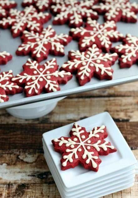 рецепт на печенье снежинка сахарной пудрке