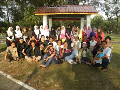 Bersama keluarga ABIM