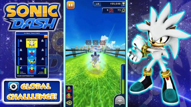 Sonic Dash v2.5.0.Go Apk + Datos SD Mod [anillos ilimitados]