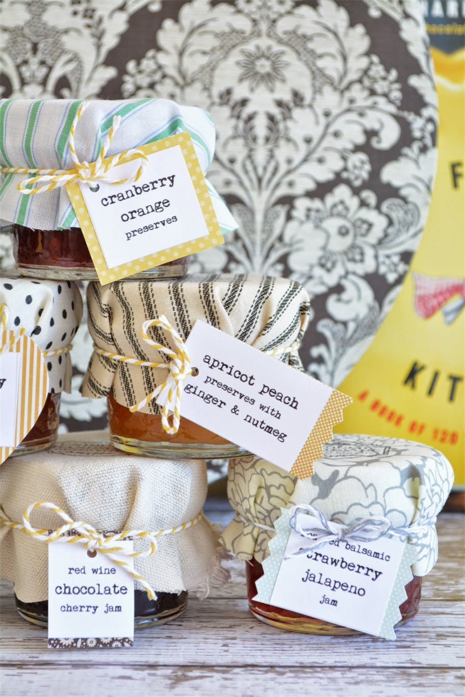 Curly Girl Kitchen: Curly Girl Wedding: Homemade Jam for Guest Favors