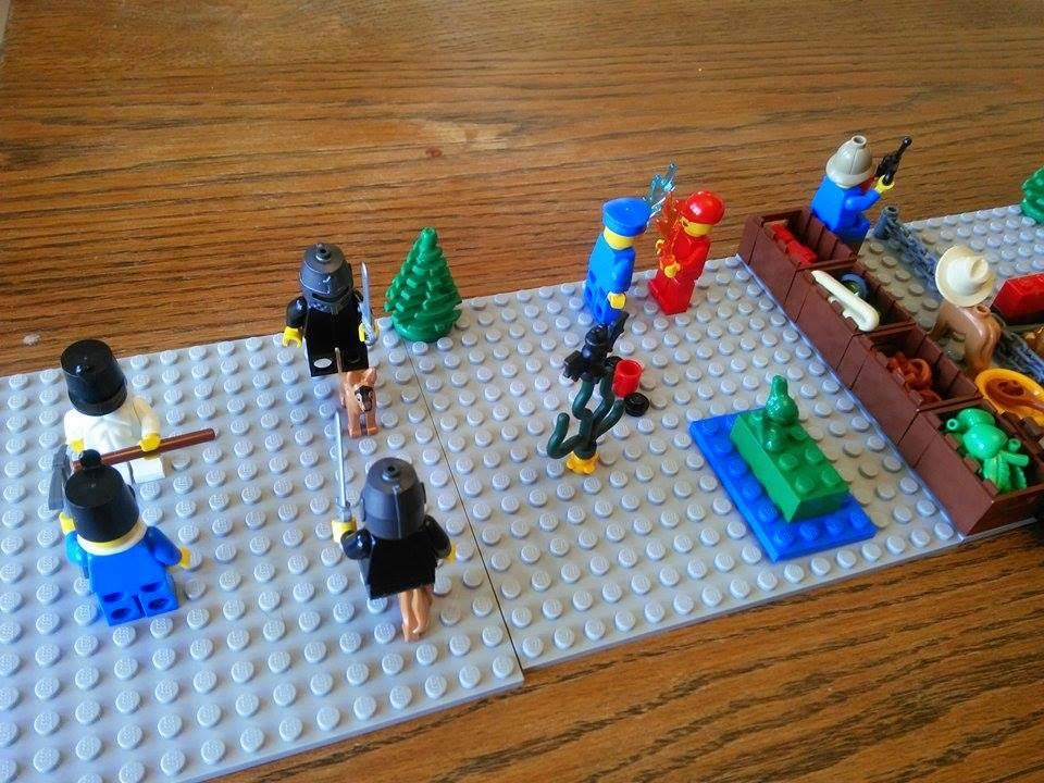 The Mayfield Crew: Morning Journal Time with Lego Storystarter Core Set