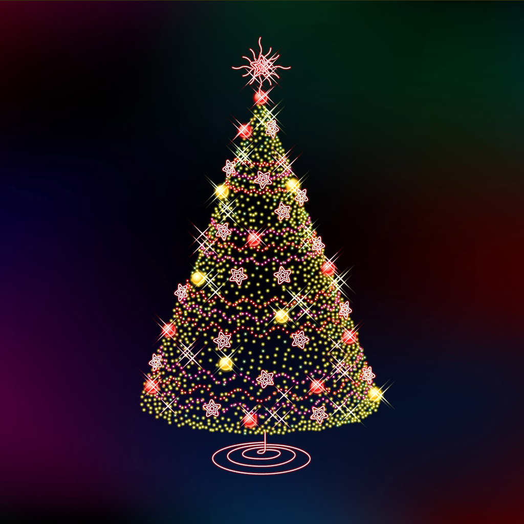 ipad wallpapers: free download christmas tree ipad mini wallpapers