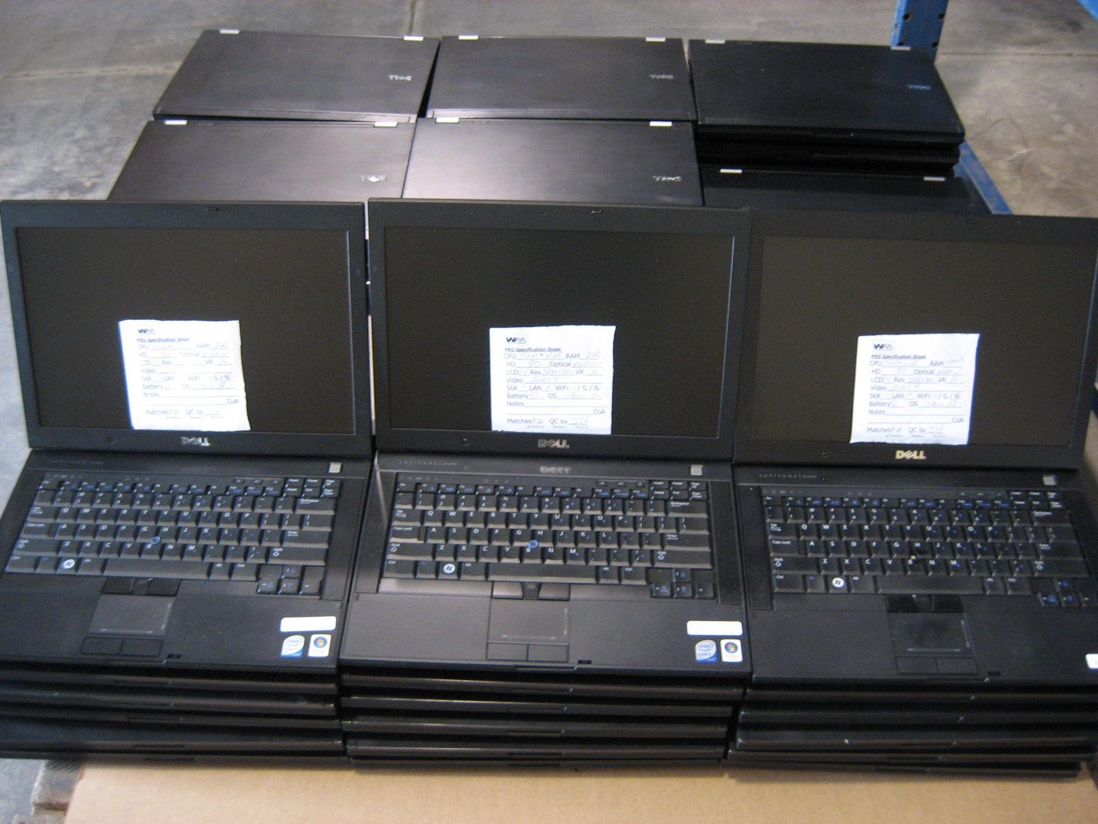 Pallet of E6400 All The Hot Black Friday Laptop Deals