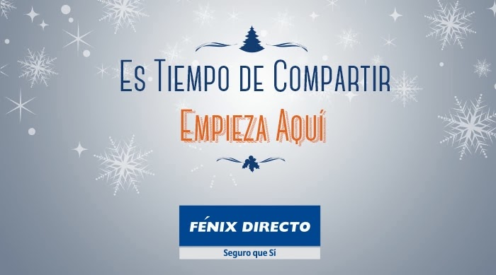Llega la Navidad, época de compartir, y en FÉNIX DIRECTO queremos desearte unas muy FELICIES FIESTAS