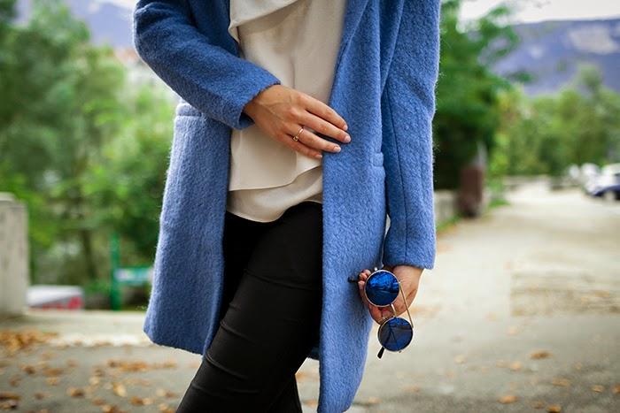 manteau bleu hiver 2014