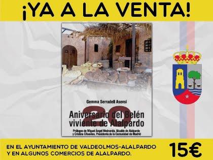 ALALPARDO (MADRID) LIBRO DEL 20 ANIVERSARIO DEL BELÉN VIVIENTE.