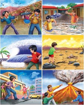 Imágenes para trabajar Fenómenos y Desastres Naturales.