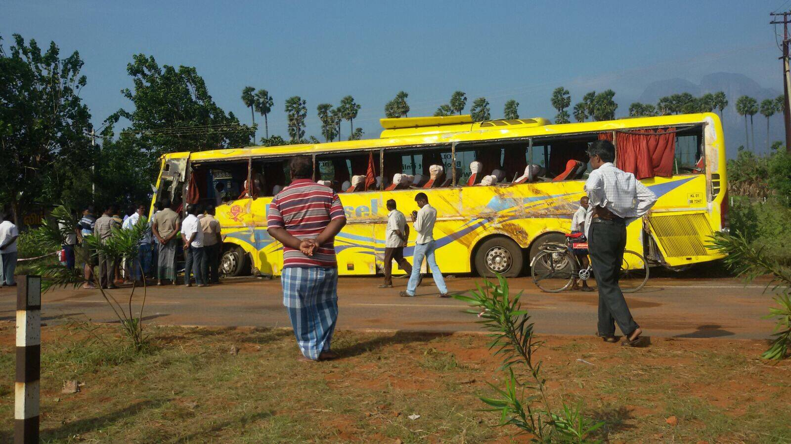 Eleven killed, 20 injured Universal Bus accident near ...