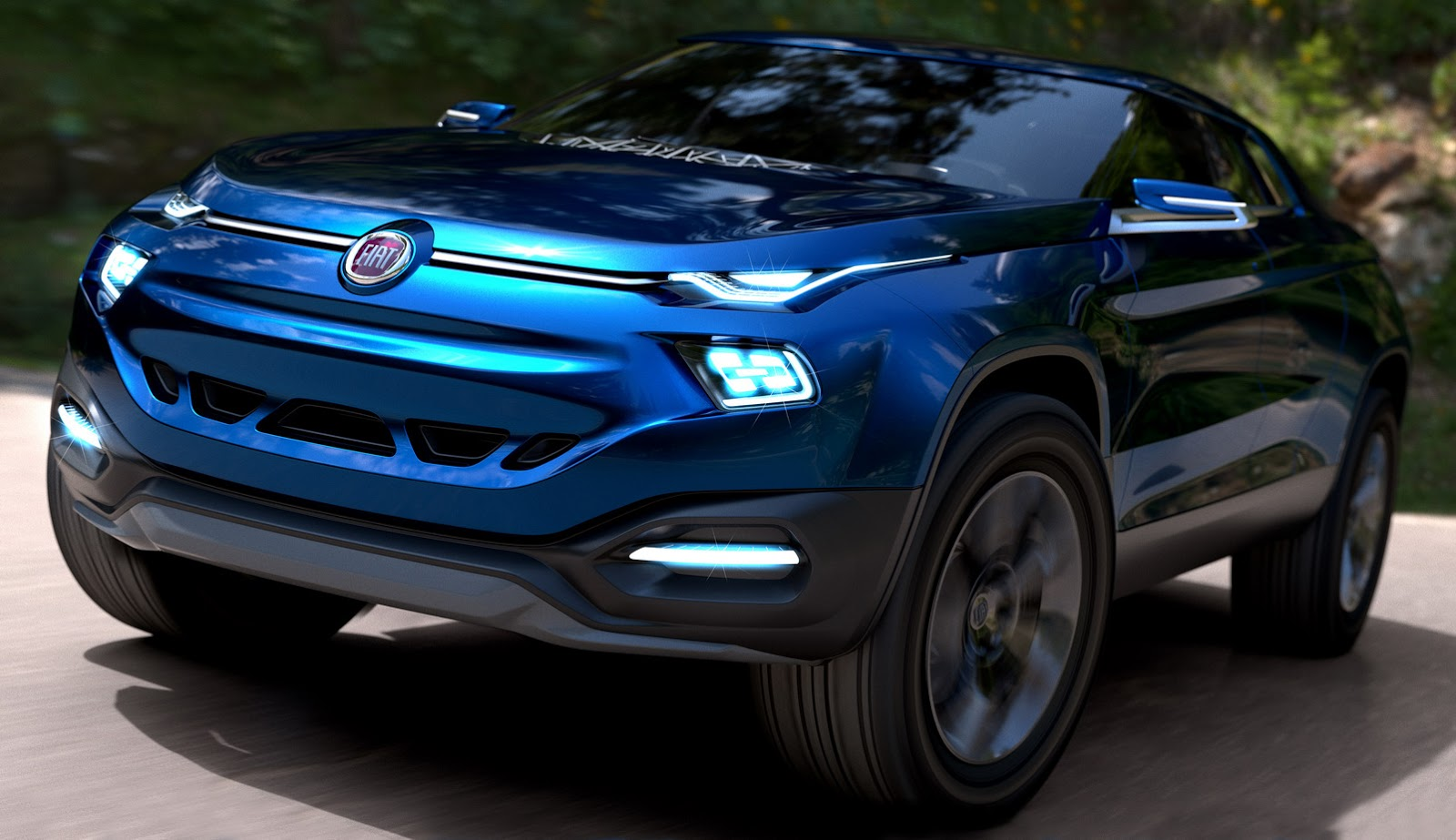 Fcc4 concept is fiat 39 s idea of a four door pickup truck coupe crossover