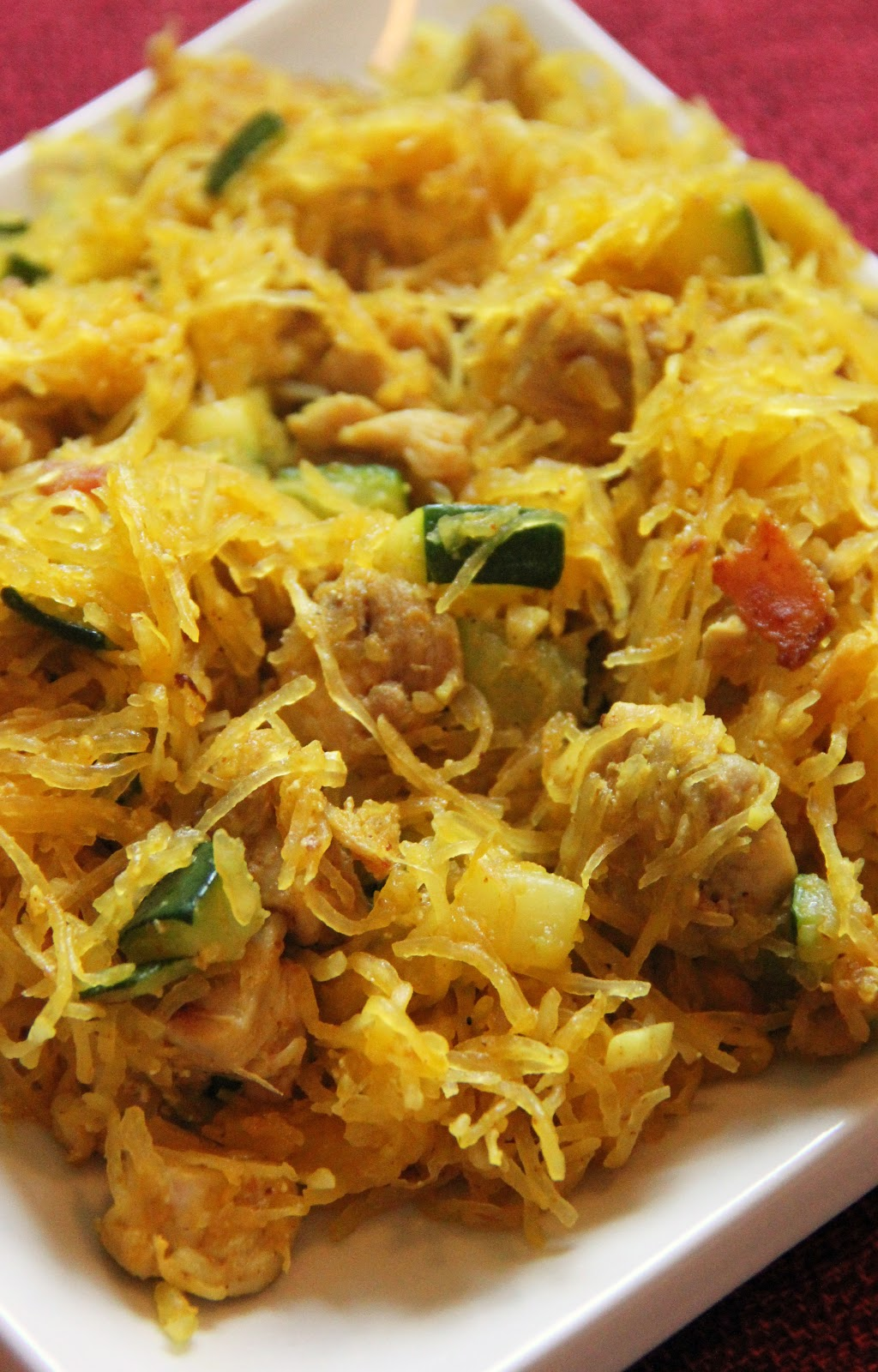 how to cook spaghetti squash noodles