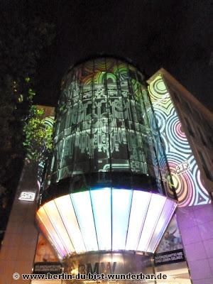 fetival of lights, berlin, illumination, 2012, bmw
