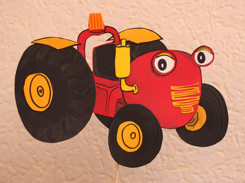 Ocalone chwile me traktor tom i Ślimaczki