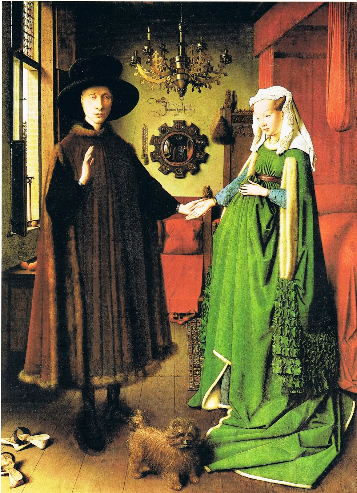 interpretations of van eyck s arnolfini wedding Find and save ideas about arnolfini portrait on pinterest detail of jan van eyck's painting arnolfini wedding singular meaning is arrogant – and jan van.