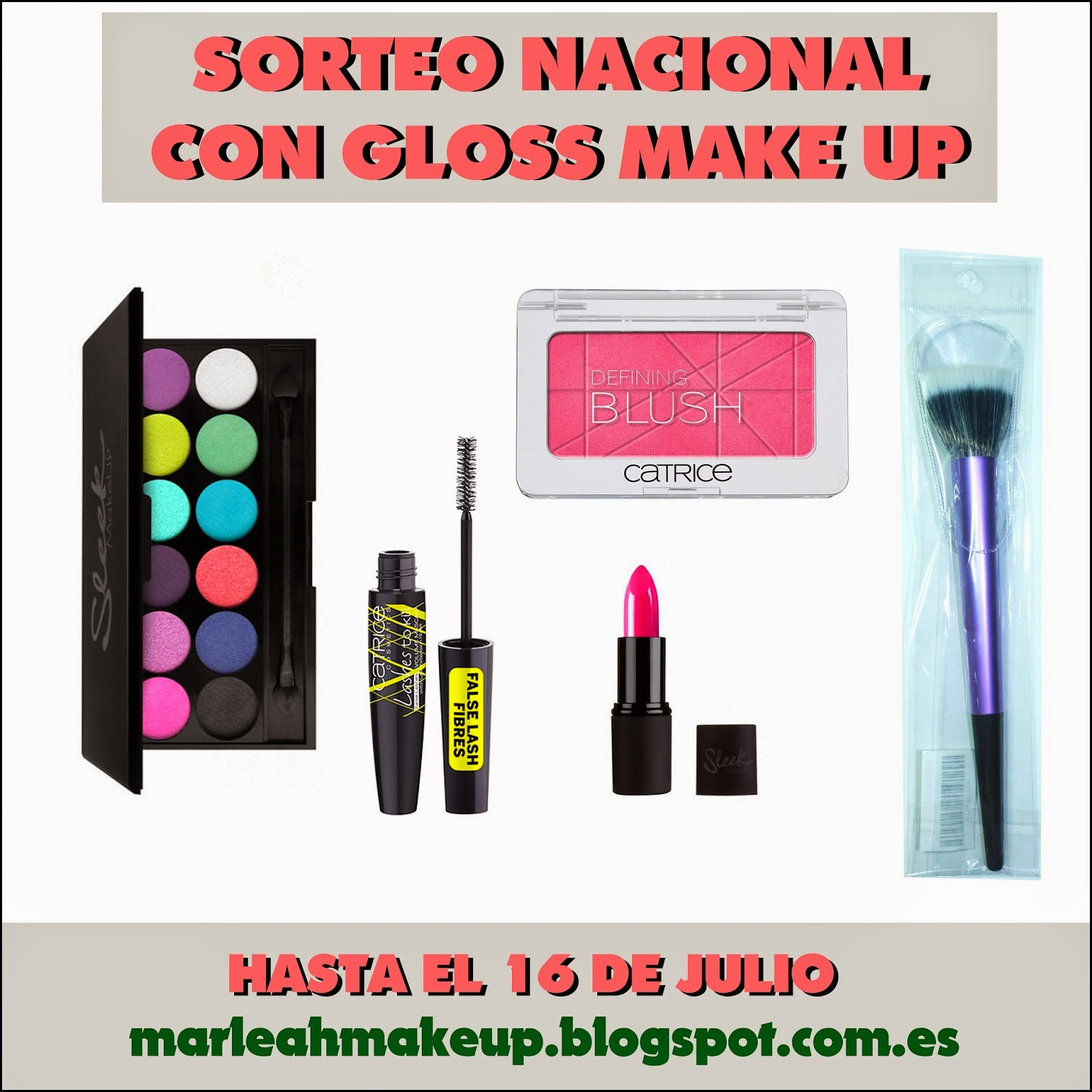 sorteo nacional con gloss make up