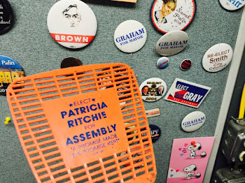 Among Treasured Political Heirlooms. ....A Patty Fly Swatter