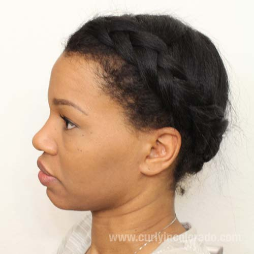 www.curlyincolorado.com protective style challenge