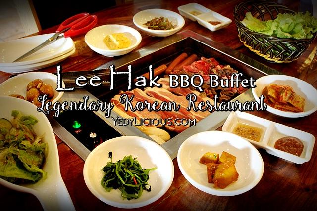 Lee Hak Bbq Buffet Korean Restaurant Kapitolyo Pasig