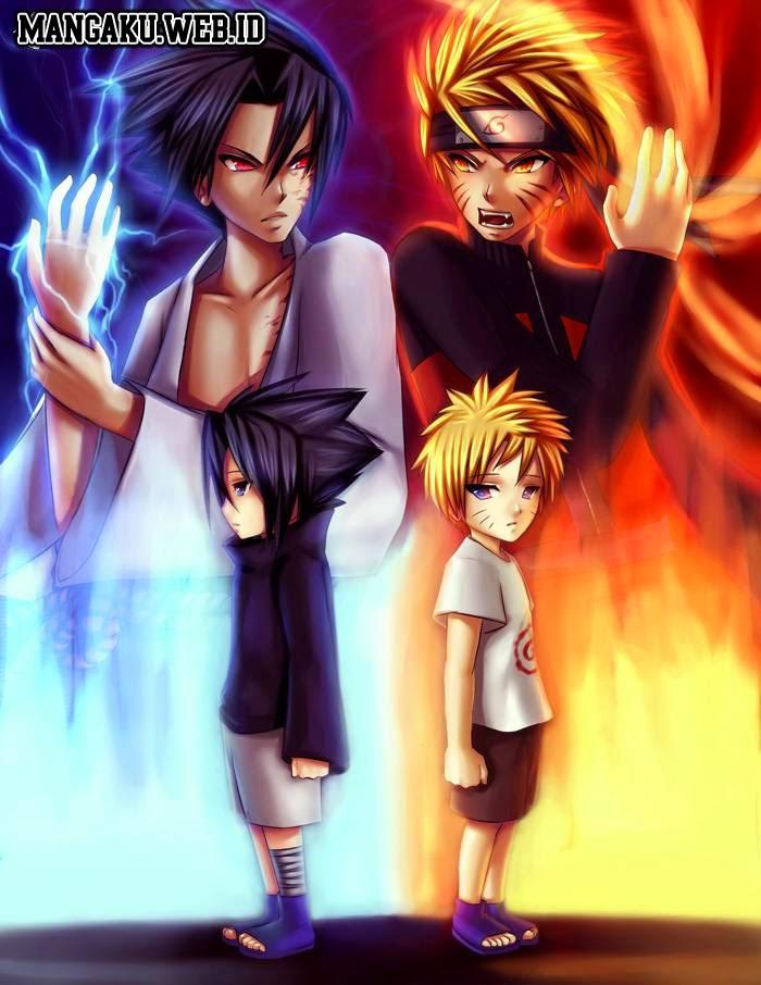 Chidori Sasuke dan rasengan naruto