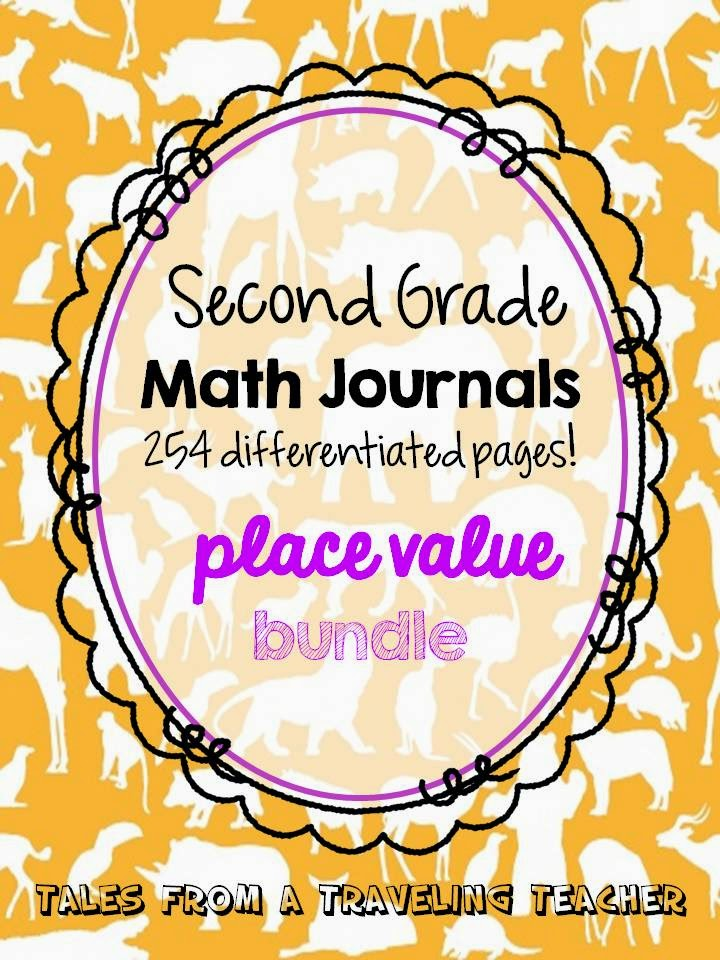 http://www.teacherspayteachers.com/Product/Math-Journals-Place-Value-Printables-for-Second-Grade-BUNDLE-1259454