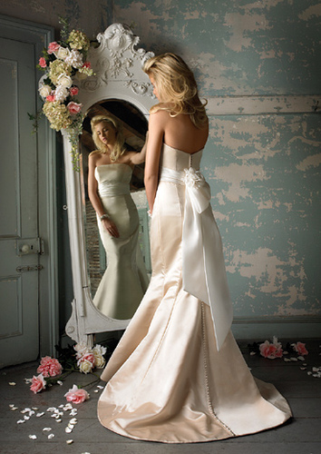 When you are among the brides who are selecting a perfect wedding dress