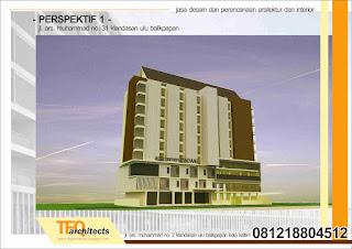 desain dan perencanaan apartemen di balikpapan