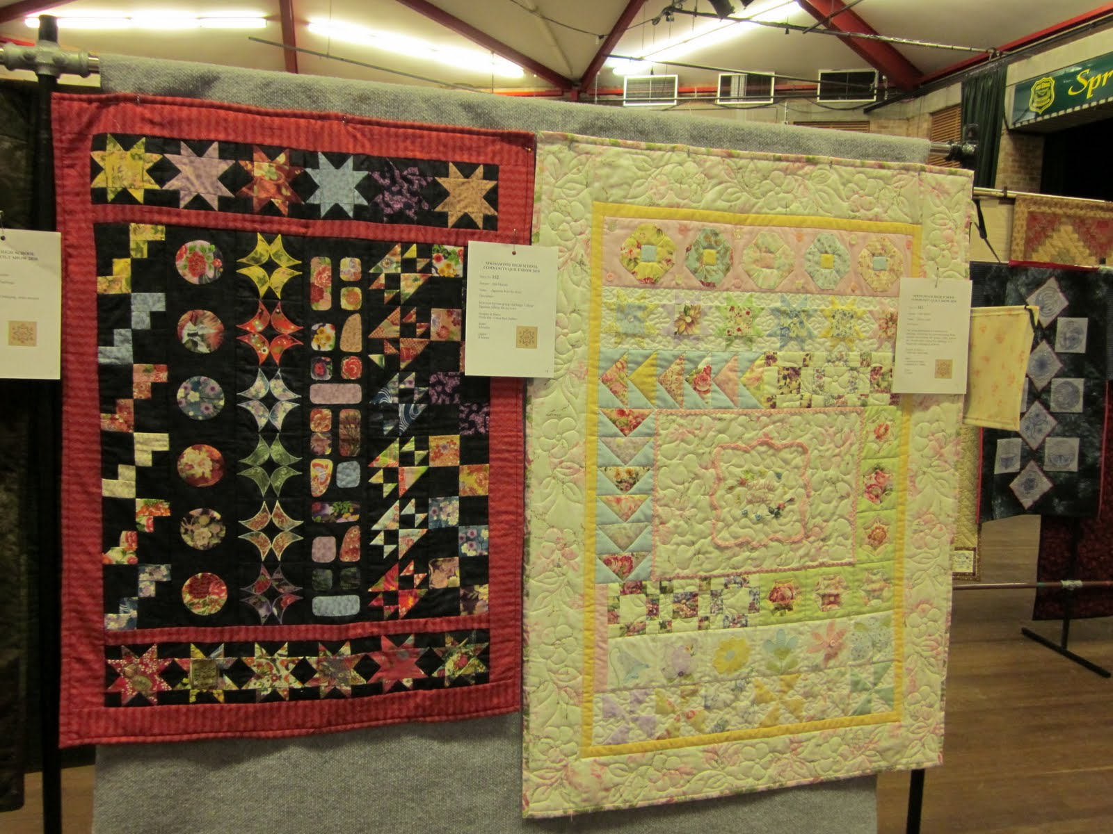 Springwood Community Quilt Show: 2011