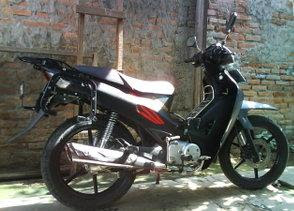 Gambar Foto Modifikasi Motor Terbaru Honda Supra X 125..JPG