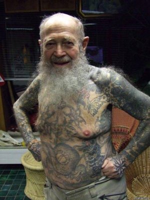 Funny Old Peoples Photos-New Funny Collection of Old Peoples