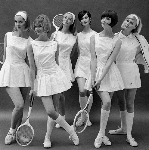 The Tennis Outfit Hasn T Really Changed That Much Over Years At Tournaments Like Wimbledon Players Are Still Required To Wear White And Women