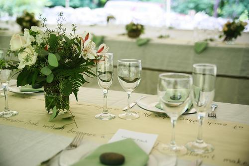 decoracao branca e verde casamento:Decoração – Casamento Verde e Branco