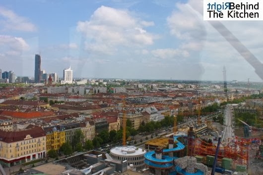 Prater Wiedeń Wien Panorama