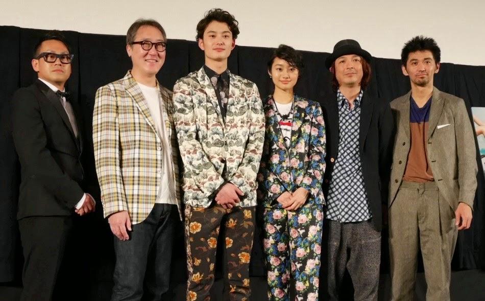Masaki Okada [岡田将生] in Dries Van Noten - 2014 Okinawa International Movie Festival Oh! Father Press Conference