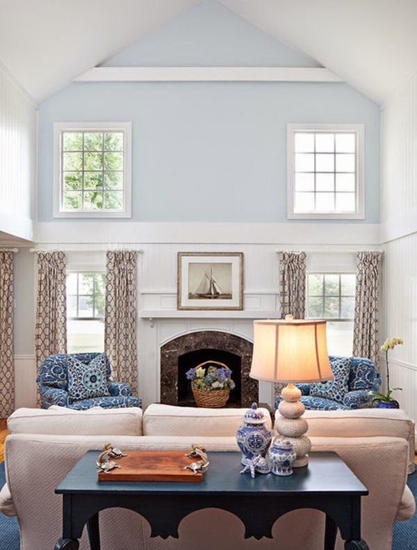 House Envy Design Dilemma Decorating Rooms with High Ceilings