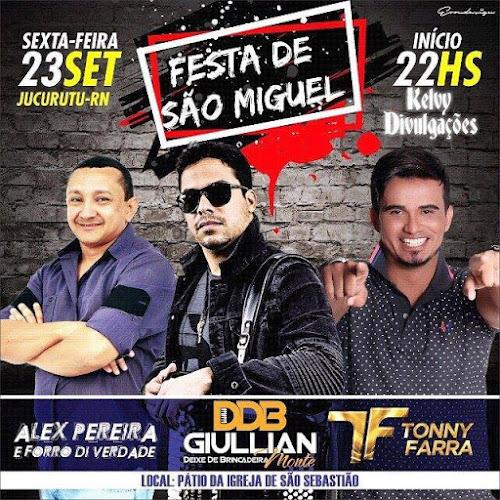 TRADICIONAL FESTA DE SÃO MIGUEL 2016 EM JUCURUTU/RN
