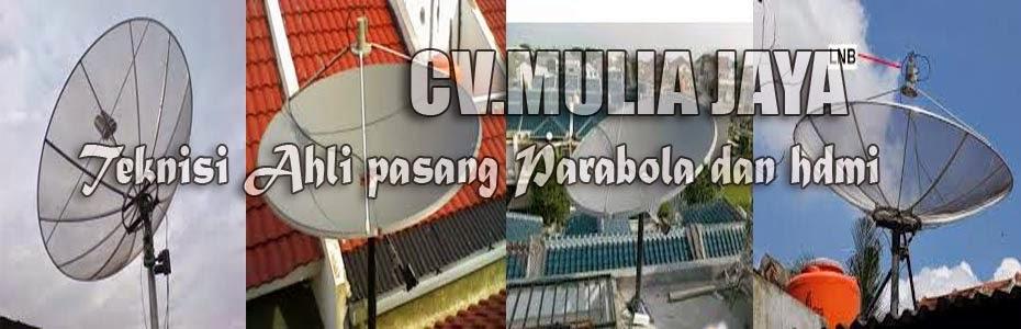 SABTU CERIA PENUH PROMO - Paket parabola dan antena tv lokal