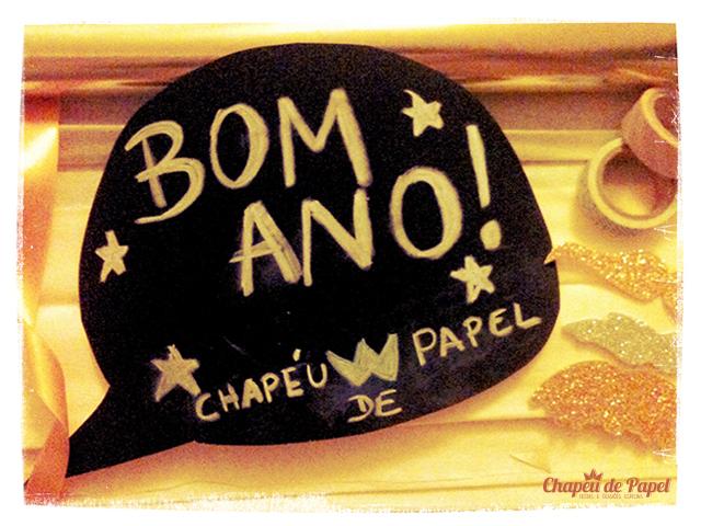 Bom Ano! Desejos da Chapéu de Papel!
