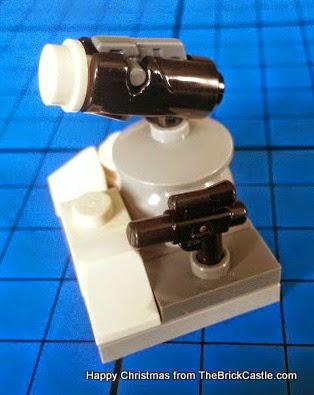 The LEGO Star Wars Advent Calendar Day 17 gun on stand