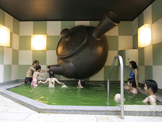 Japanese Green Tea Bath House